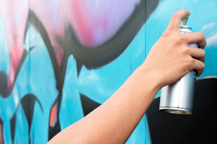 Got Graffiti Problems? Window Film Can Help