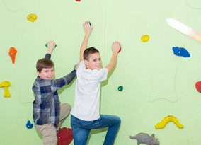 School Answers Custom Rock Wall Colts Neck Campus