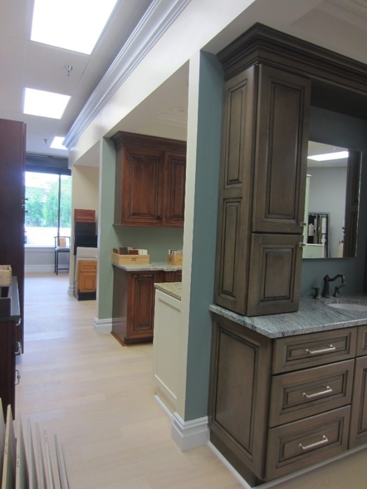 Luxury Red Bank Cabinet Company