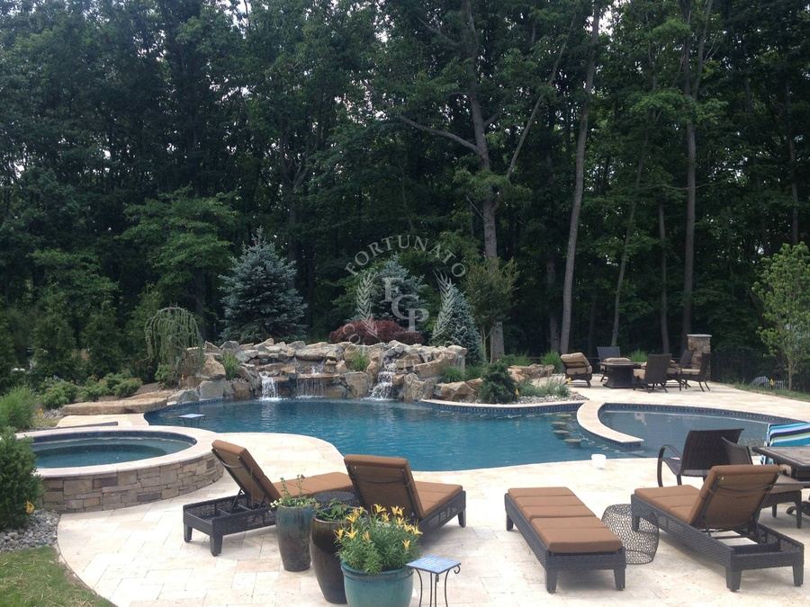 fortunato concrete pool showcase in nj 732 363 3889. Black Bedroom Furniture Sets. Home Design Ideas