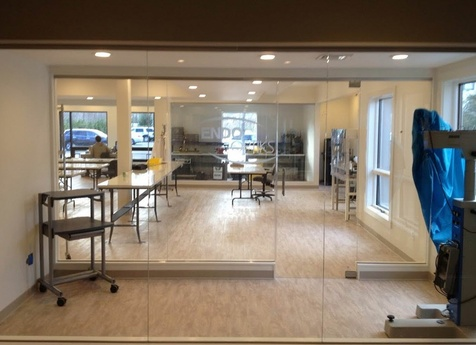 Custom Frameless Glass Walls in NJ