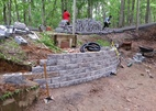 Millstone NJ Retaining Wall