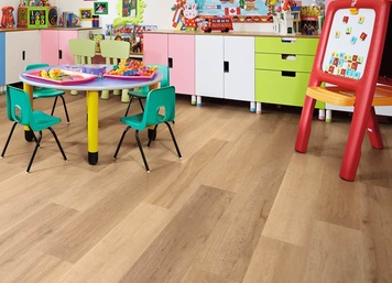 Korlok (RKP8103 Warm Ash) by Karndean Design Flooring