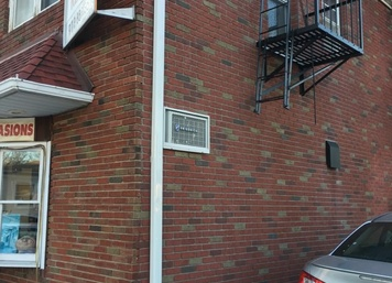 Commercial Brickface in Verona, NJ (Matched Real Brick)
