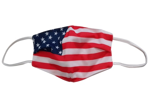 Stock Face Mask (American Flag)