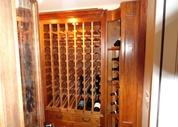Custom Home Wine Cellar in NJ