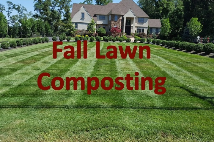 Fall Lawn composting