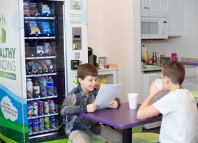 School Answers/Collaborating Over a Healthy Snack