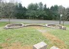 Street view circle planters