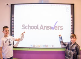 School Answers Virtual Lab-State of the Art Smartboard