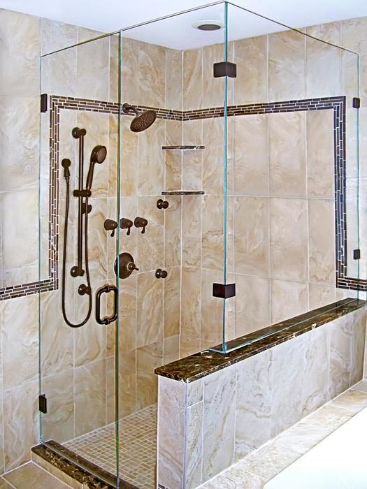 Best Of Open Entry Shower Door