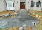 Paver walkway prep and screed