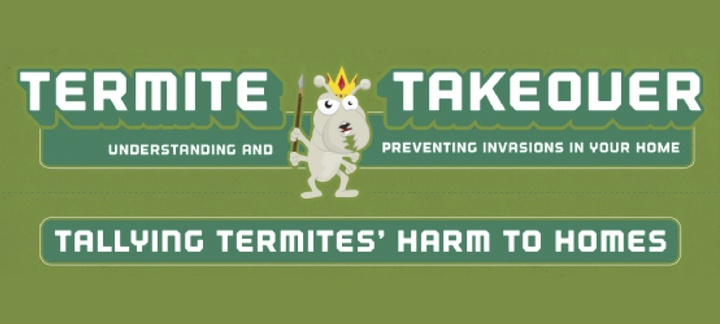 Termite Takeover! Infographic on Termite Infestation Prevention