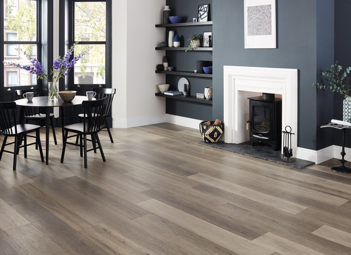 Style: Korlok (RKP8104 Washed Grey Ash) by Karndean Design Flooring