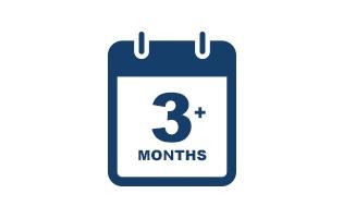 Minimum 3 Months in Business