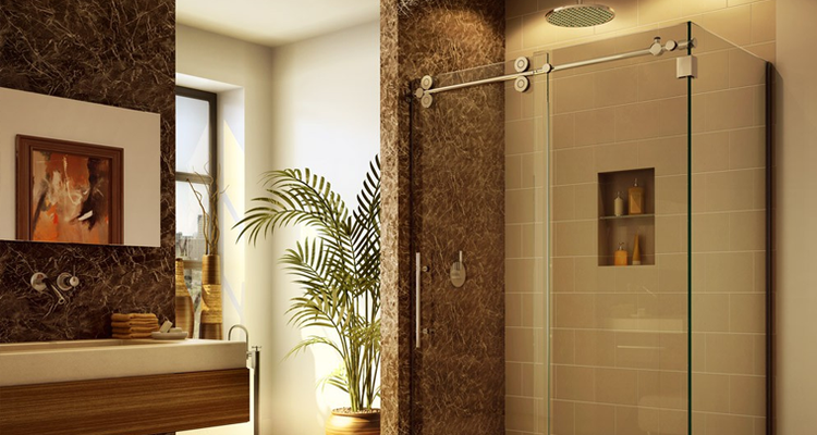 Precision Frameless Shower Doors in New Jersey (732) 389-8175
