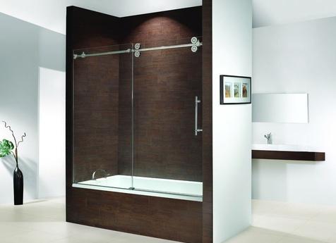 Frameless Shower Doors for a Tub in Red Bank, NJ