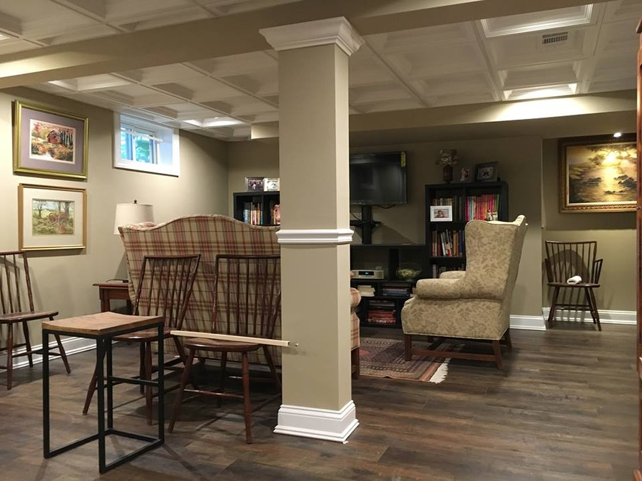 Luxury Basement Renovations before and after
