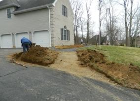Walk and Step excavation