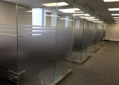 Office Window Privacy Film