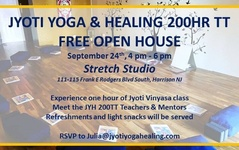 JYOTI Teacher Training Begins January 13th