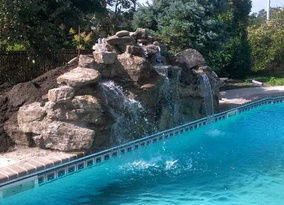 Poolscape/Waterfall
