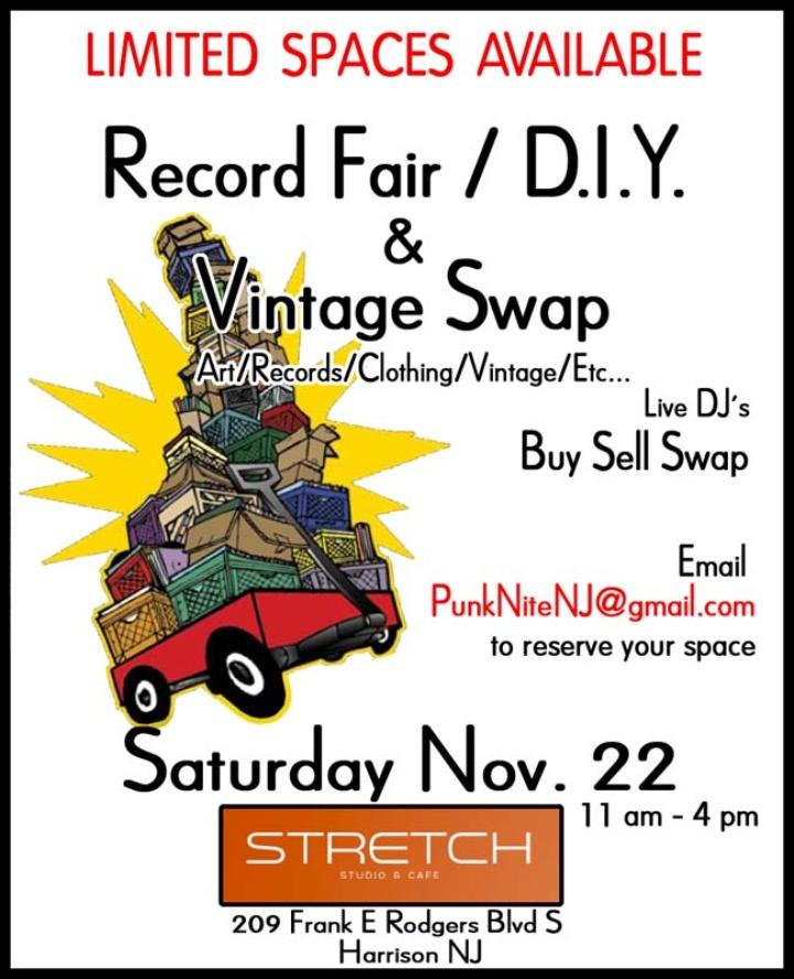 Record Fair / D.I.Y. & Vintage Swap
