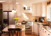 Custom Candlelight Kitchen Cabinets in New Jersey