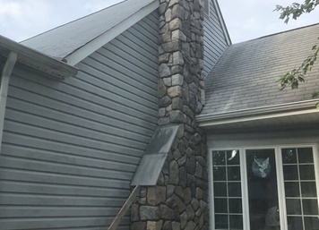 Cultured Stone, Aspen Dressed Fieldstone in Moorestown, NJ (After)