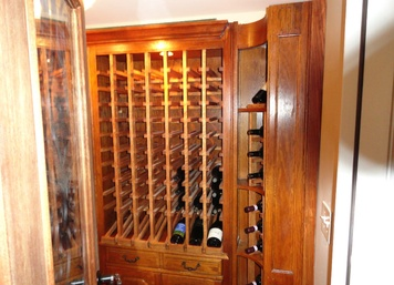 Custom Home Wine Cellar in NJ