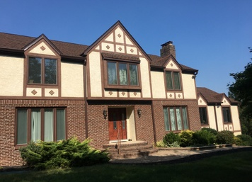 Tudor Stucco in Belle Mead, NJ