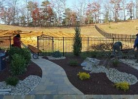 Completed landscape Millstone NJ