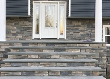 Cultured Stone, Ledgestone in Howell, NJ (After)