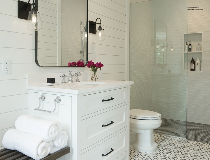 5 Color Schemes to Test in Your New Bathroom