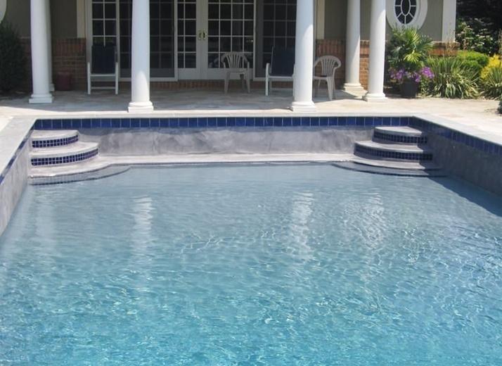 After - Pool Restoration in Colts Neck, NJ