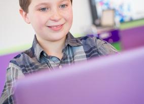 School Answers Virtual Lab-Student using Macbook