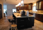 Custom Candlelight Kitchen Cabinets in Holmdel, NJ