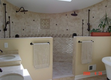 Custom Bathroom Remodel in Monmouth Beach, NJ