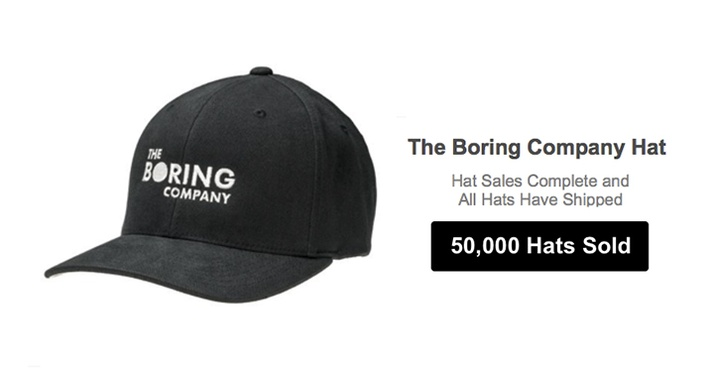 Can you sell headwear with your company's logo on it?