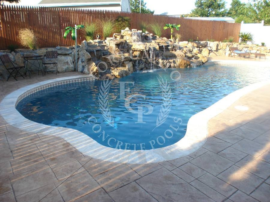 Fortunato concrete pool showcase in nj 732 363 3889 for Pool showcase