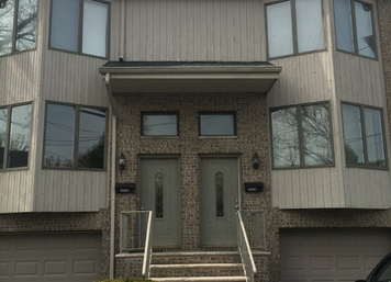 Hardcoat Stucco in Fort Lee, NJ (Before)