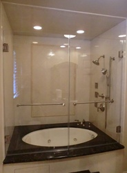 French Doors on Tub