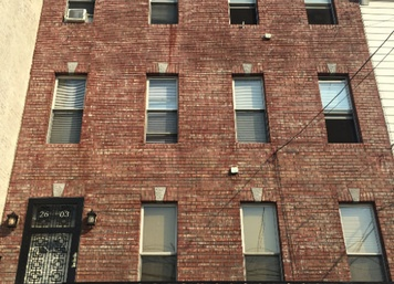 Commercial Brick Exterior in Astoria Queens NY