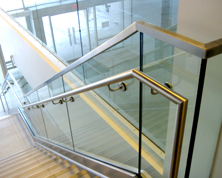 Custom Glass Railing In New Jersey Glass Stairs Glass