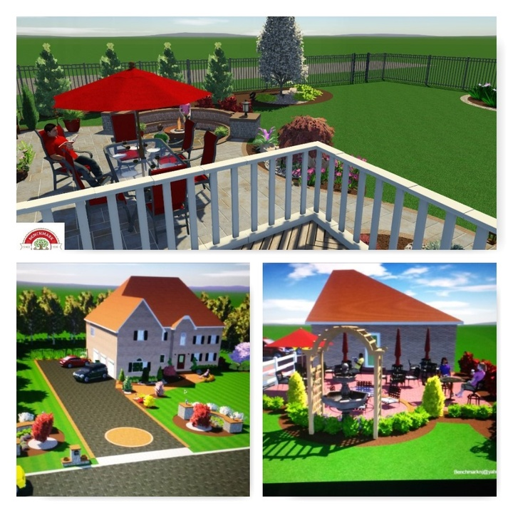 3D Landscape Designs Millstone NJ Monmouth, Mercer, Middlesex, Ocean counties