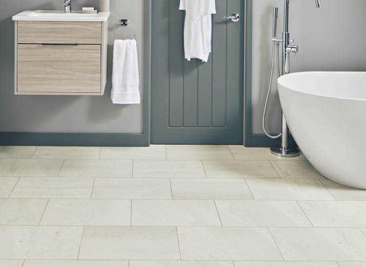 Style: Knight (ST17 Honed Oyster Slate) by Karndean Design Flooring