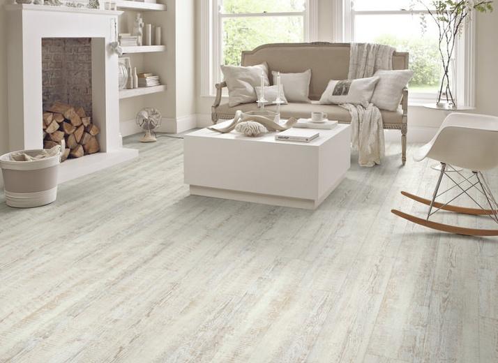 Style: Knight Tile (KP105 White Painted Oak) by Karndean Design Flooring