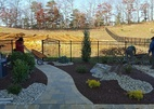 Completed landscape Millstone NJ