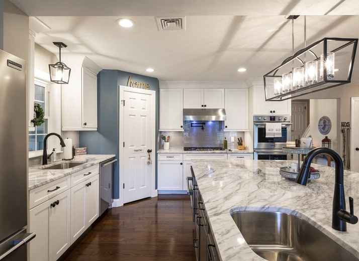 Kitchen Remodeling in Pequannock, NJ by LA Design + Construction