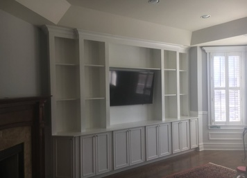Custom Built-in Cabinets in Hoboken, NJ